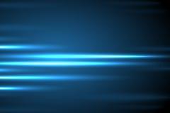 Διανυσματικό αφηρημένο μπλε υπόβαθρο κινήσεων πυράκτωσης ελαφρύ διανυσματική απεικόνιση