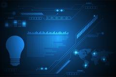 Διανυσματικό αφηρημένο σχέδιο διεπαφών τεχνολογίας υποβάθρου Στοκ Εικόνες