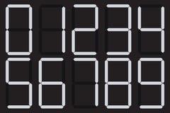 Διανυσματικό αφηρημένο σύνολο αριθμού (10eps) Στοκ φωτογραφία με δικαίωμα ελεύθερης χρήσης