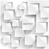 Διανυσματικό αφηρημένο τετράγωνο υποβάθρου. Σχέδιο Ιστού Στοκ φωτογραφία με δικαίωμα ελεύθερης χρήσης