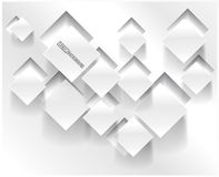 Διανυσματικό αφηρημένο τετράγωνο υποβάθρου. Σχέδιο Ιστού Στοκ Φωτογραφίες