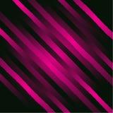Διανυσματικό αφηρημένο υπόβαθρο γοητείας με τις διαγώνιες γραμμές και τις λουρίδες Λαμπρό ιώδες σκηνικό διανυσματική απεικόνιση
