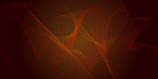 Διανυσματικό αφηρημένο υπόβαθρο με την πορτοκαλής-καφετιά μετάβαση Στοκ φωτογραφία με δικαίωμα ελεύθερης χρήσης