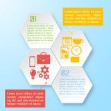 Διανυσματικό αφηρημένο infographic υπόβαθρο εγγράφου Στοκ εικόνες με δικαίωμα ελεύθερης χρήσης