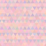 Διανυσματικό γεωμετρικό άνευ ραφής σχέδιο τριγώνων διανυσματική απεικόνιση