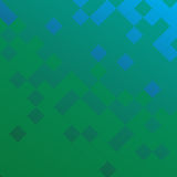 Διανυσματικό γεωμετρικό αφηρημένο υπόβαθρο με τα τετράγωνα και τις γραμμές ελεύθερη απεικόνιση δικαιώματος