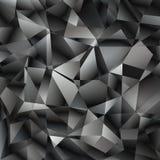Διανυσματικό γεωμετρικό αφηρημένο υπόβαθρο με τα τρίγωνα και τις γραμμές Στοκ Εικόνα