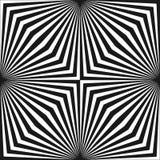 Διανυσματικό γεωμετρικό σχέδιο με τις ριγωτές γραμμές Οπτική επίδραση παραίσθησης, λαϊκό ύφος τέχνης απεικόνιση αποθεμάτων