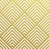 Διανυσματικό γεωμετρικό χρυσό σχέδιο Στοκ φωτογραφία με δικαίωμα ελεύθερης χρήσης