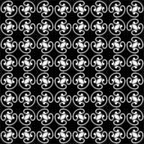Διανυσματικό γραπτό άνευ ραφής σχέδιο σχεδίων Στοκ εικόνα με δικαίωμα ελεύθερης χρήσης