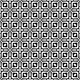 Διανυσματικό γραπτό άνευ ραφής σχέδιο σχεδίων Στοκ Φωτογραφίες