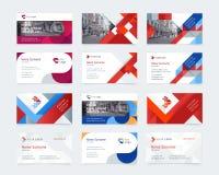Διανυσματικό δημιουργικό πρότυπο επαγγελματικών καρτών απεικόνιση αποθεμάτων