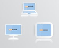 Διανυσματικό μπλε 01.04.13 εικονιδίων οργάνων ελέγχου Στοκ Εικόνες