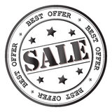 Διανυσματικό εικονίδιο σημαδιών πώλησης Στοκ εικόνα με δικαίωμα ελεύθερης χρήσης