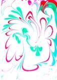 Διανυσματικό ζωηρόχρωμο σχέδιο καλύψεων που τίθεται με τις συστάσεις r Αφηρημένο φωτεινό χρωματισμένο χέρι υπόβαθρο διανυσματική απεικόνιση