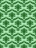 Διανυσματικό ζωηρόχρωμο damask άνευ ραφής floral υπόβαθρο σχεδίων Στοκ φωτογραφίες με δικαίωμα ελεύθερης χρήσης