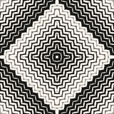 Διανυσματικό ημίτονο άνευ ραφής σχέδιο Διαγώνιες γραμμές τρεκλίσματος, λωρίδες ελεύθερη απεικόνιση δικαιώματος