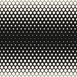 Διανυσματικό ημίτονο άνευ ραφής σχέδιο, μονοχρωματική γεωμετρική σύσταση Στοκ Φωτογραφία