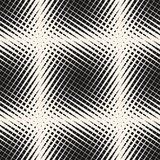 Διανυσματικό ημίτονο γεωμετρικό άνευ ραφής σχέδιο Πέρασμα των διαγώνιων γραμμών, διαφορετικά λωρίδες πάχους, πλέγμα, πλέγμα Στοκ εικόνες με δικαίωμα ελεύθερης χρήσης