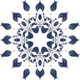 Διανυσματικό διακοσμητικό floral στοιχείο Στοκ Εικόνες