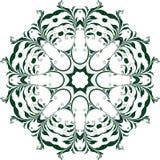 Διανυσματικό διακοσμητικό floral στοιχείο Στοκ φωτογραφία με δικαίωμα ελεύθερης χρήσης
