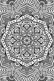 Διανυσματικό ινδικό υπόβαθρο Mandala Στοκ φωτογραφία με δικαίωμα ελεύθερης χρήσης