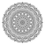 Διανυσματικό ινδικό Mandala Στοκ Εικόνα