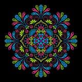 Διανυσματικό ινδικό Mandala Στοκ εικόνες με δικαίωμα ελεύθερης χρήσης
