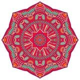 Διανυσματικό ινδικό Mandala Στοκ Εικόνες