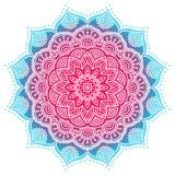 Διανυσματικό ινδικό Mandala Στοκ φωτογραφία με δικαίωμα ελεύθερης χρήσης