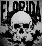 Διανυσματικό καλοκαίρι έννοιας λεσχών κυματωγών παραλιών της Φλώριδας που κάνει σερφ το αναδρομικό badg διανυσματική απεικόνιση