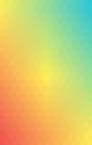 Διανυσματικό καλοκαίρι κλίσης τριγώνων υποβάθρου Στοκ Εικόνες
