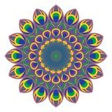 Διανυσματικό κυκλικό σχέδιο ή mandala ελεύθερη απεικόνιση δικαιώματος
