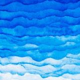 Διανυσματικό κόκκινο υπόβαθρο watercolor Στρώματα Watercolor διαφορετικού ελεύθερη απεικόνιση δικαιώματος