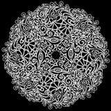 διανυσματικό λευκό δαντελλών Στοκ φωτογραφίες με δικαίωμα ελεύθερης χρήσης