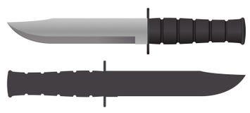 Διανυσματικό μαχαίρι Στοκ φωτογραφία με δικαίωμα ελεύθερης χρήσης