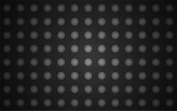 Διανυσματικό μαύρο υπόβαθρο με τις σφαίρες διανυσματική απεικόνιση