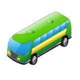 Διανυσματικό μικρό λεωφορείο Στοκ Φωτογραφία