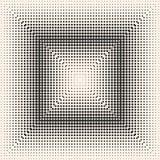 Διανυσματικό μονοχρωματικό ημίτονο σχέδιο, ψηφιακή βαθμιαία μετάβαση Στοκ Εικόνες