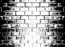 Διανυσματικό μονοχρωματικό υπόβαθρο grunge τοίχος σύστασης απεικόνισης τούβλου ανασκόπησης Επίδραση επικαλύψεων γραμματοσήμων σκί ελεύθερη απεικόνιση δικαιώματος