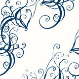 Διανυσματικό μπαρόκ άνευ ραφής σχέδιο Στοκ εικόνα με δικαίωμα ελεύθερης χρήσης
