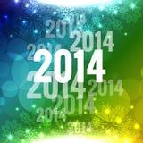 Διανυσματικό νέο έτος διανυσματική απεικόνιση