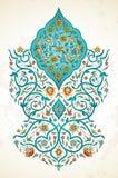 Διανυσματικό ντεκόρ, arabesque στο ανατολικό ύφος ελεύθερη απεικόνιση δικαιώματος