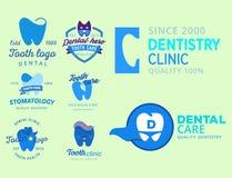 Διανυσματικό οδοντικό στοματικό γραφικό προφορικό στοιχείο στοματολογίας απεικόνισης προτύπων προστασίας λογότυπων Στοκ φωτογραφίες με δικαίωμα ελεύθερης χρήσης