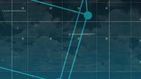 Διανυσματικό ολόγραμμα κύβων φιλμ μικρού μήκους
