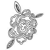 Διανυσματικό λουλούδι Στοκ Φωτογραφίες