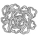 Διανυσματικό λουλούδι Στοκ φωτογραφίες με δικαίωμα ελεύθερης χρήσης