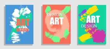 Διανυσματικό πλαίσιο για τη γραφική παράσταση σύγχρονης τέχνης κειμένων για τα hipsters Δυναμικό ζωηρόχρωμο πλαίσιο λωρίδων πλαισ ελεύθερη απεικόνιση δικαιώματος