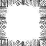 Διανυσματικό πλαίσιο Χριστουγέννων Στοκ Εικόνα