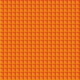 Διανυσματικό πορτοκάλι σχεδίων χρώματος τετραγωνικό Στοκ φωτογραφία με δικαίωμα ελεύθερης χρήσης